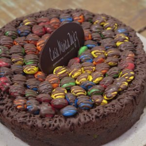 TORTA DE CHOCOLATE M&M